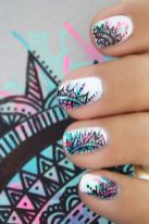 Best Colorful and Stylish Summer Nails Ideas 14