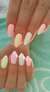 Best Colorful and Stylish Summer Nails Ideas 15