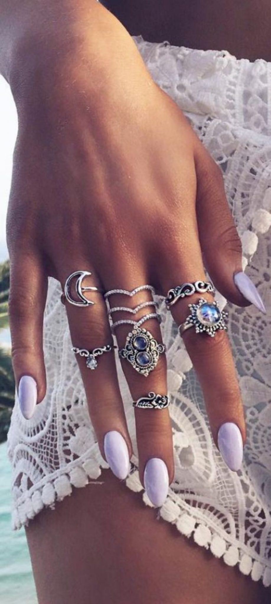 Best Colorful and Stylish Summer Nails Ideas 43