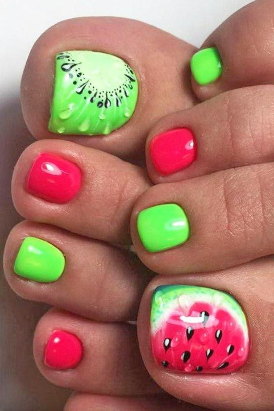 Best Colorful and Stylish Summer Nails Ideas 5