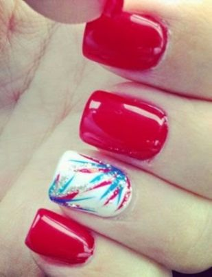 Best Colorful and Stylish Summer Nails Ideas 58