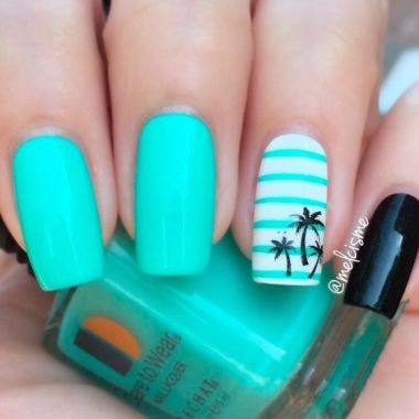 Best Colorful and Stylish Summer Nails Ideas 60