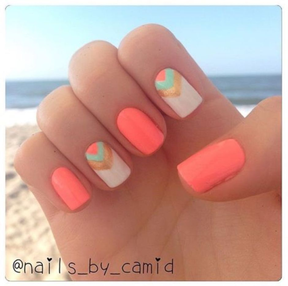 Best Colorful and Stylish Summer Nails Ideas 69