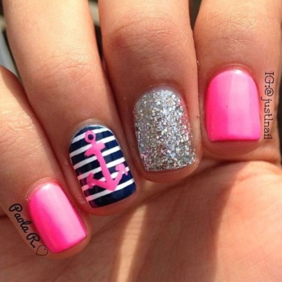Best Colorful and Stylish Summer Nails Ideas 76