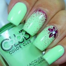 Best Colorful and Stylish Summer Nails Ideas 80