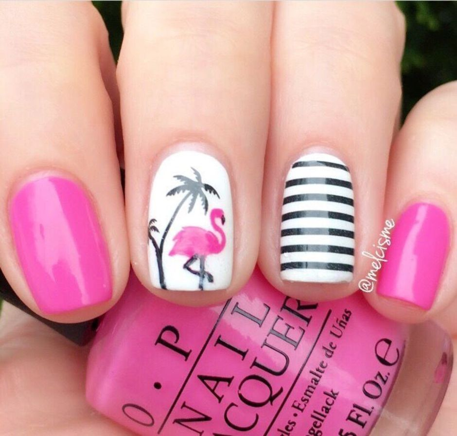 Best Colorful and Stylish Summer Nails Ideas 85