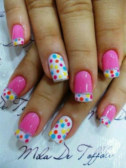 Cute and Easy Easter Nail Art Design Ideas 19