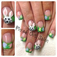 Cute and Easy Easter Nail Art Design Ideas 31 - Fashion Best