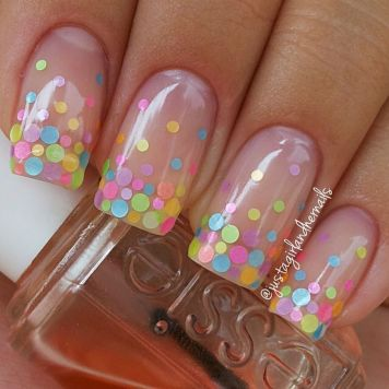 Cute and Easy Easter Nail Art Design Ideas 40