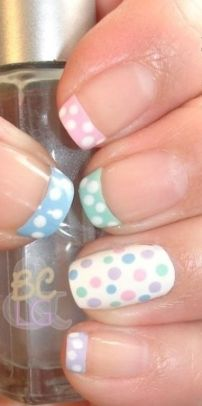 Cute and Easy Easter Nail Art Design Ideas 46