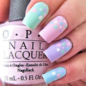 Cute and Easy Easter Nail Art Design Ideas 48