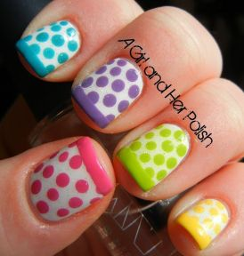 Cute and Easy Easter Nail Art Design Ideas 5