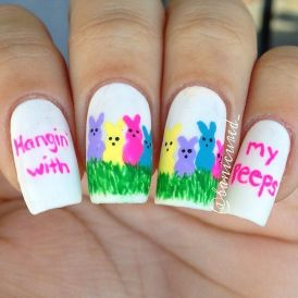 Cute and Easy Easter Nail Art Design Ideas 6
