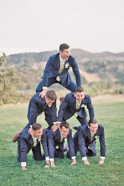 100+ Groomsmen Photos Poses Ideas You Can't Miss 30