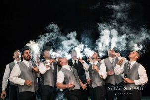 100+ Groomsmen Photos Poses Ideas You Can't Miss 38