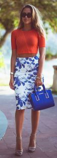 55 Orange Outfit Ideas That Make You Look Young and Fresh 21