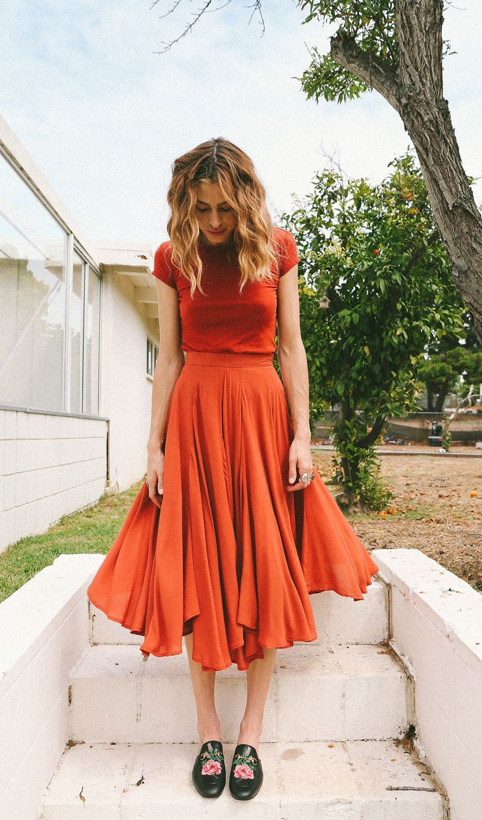 55 Orange Outfit Ideas That Make You Look Young and Fresh 3