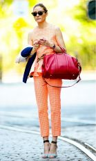 55 Orange Outfit Ideas That Make You Look Young and Fresh 35