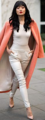 55 Orange Outfit Ideas That Make You Look Young and Fresh 7