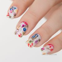 Awesome Floral Nails Design Ideas 16 - Fashion Best