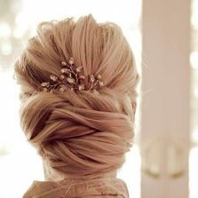 simpe but classy bridal hair do 1