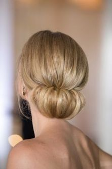 simpe but classy bridal hair do 25