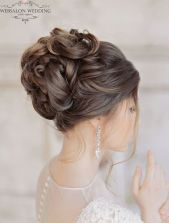simpe but classy bridal hair do 4