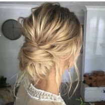 simpe but classy bridal hair do 7
