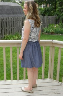 Everyday Skirt back
