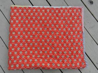 Quilt back close up 1
