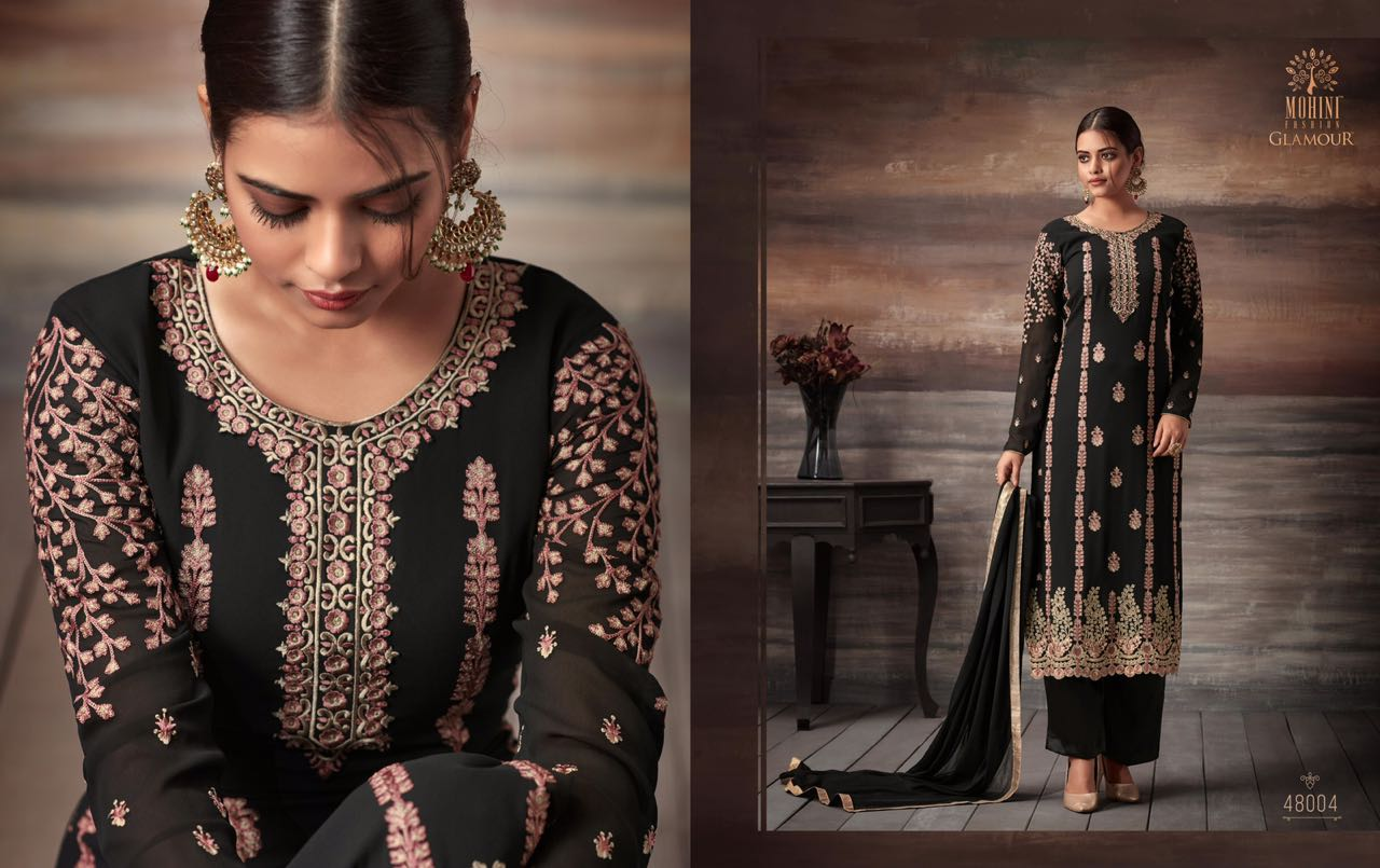 7d9a02fad4d GLAMOUR VOL-48 BY MOHINI FASHION 48001 TO 48005 SERIES DESIGNER ...