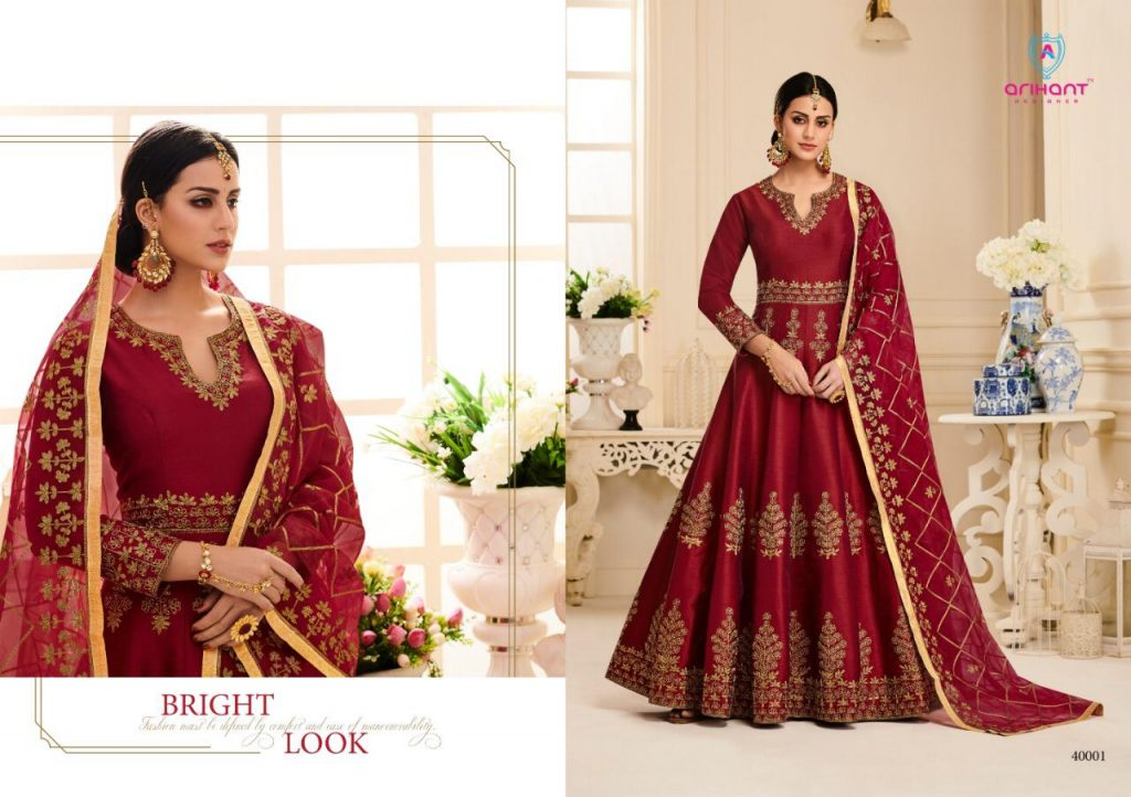 Fashid Wholesale » AYANA BY ARIHANT DESIGNER 40001 TO
