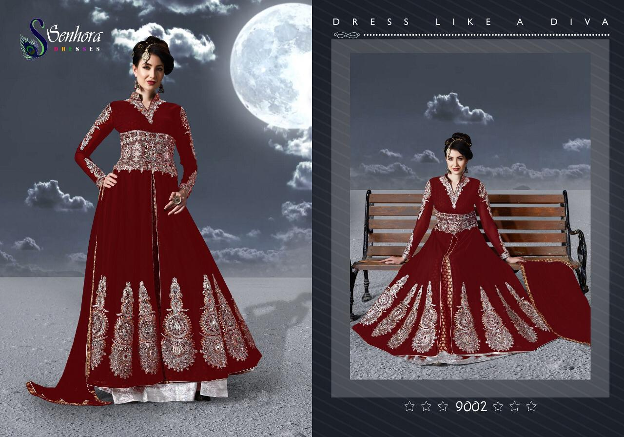 CHAND BY SENHORA DRESSES 9001 TO 9004 SERIES DESIGNER