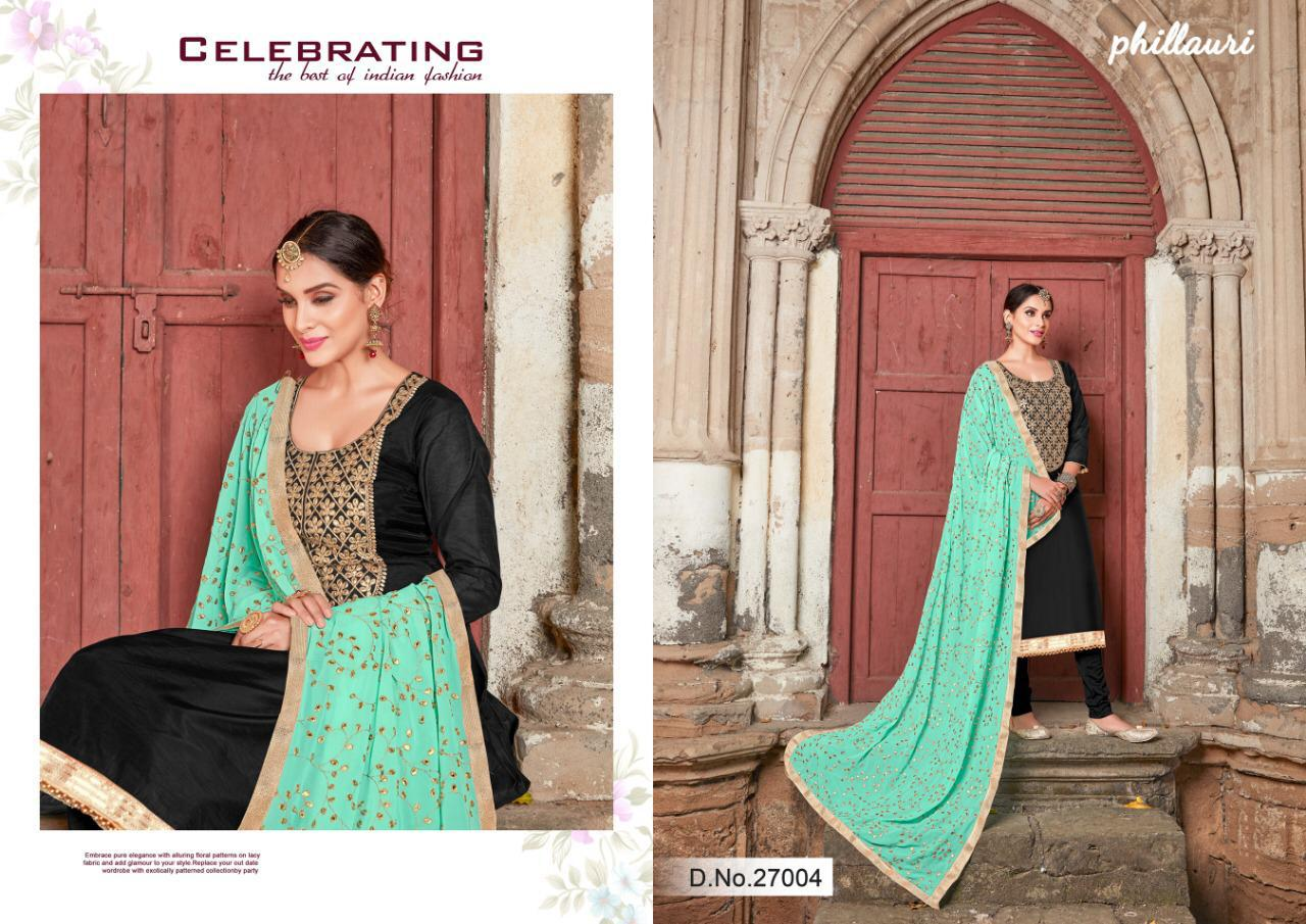 12fe1cc266e PHILLAURI VOL-14 BY PHILLAURI 27001 TO 27005 SERIES DESIGNER SUITS ...