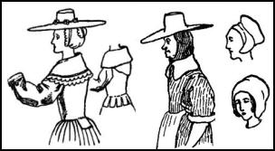 Puritan women clothing. Clothing stores
