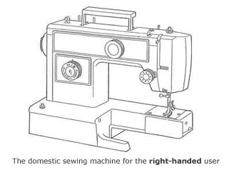 Are sewing machines designed for the left handed
