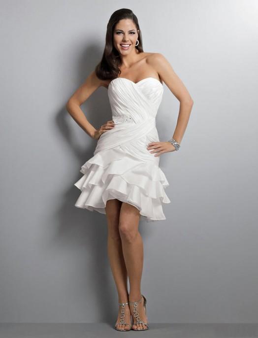 short wedding dress: collection 2018 photo 3