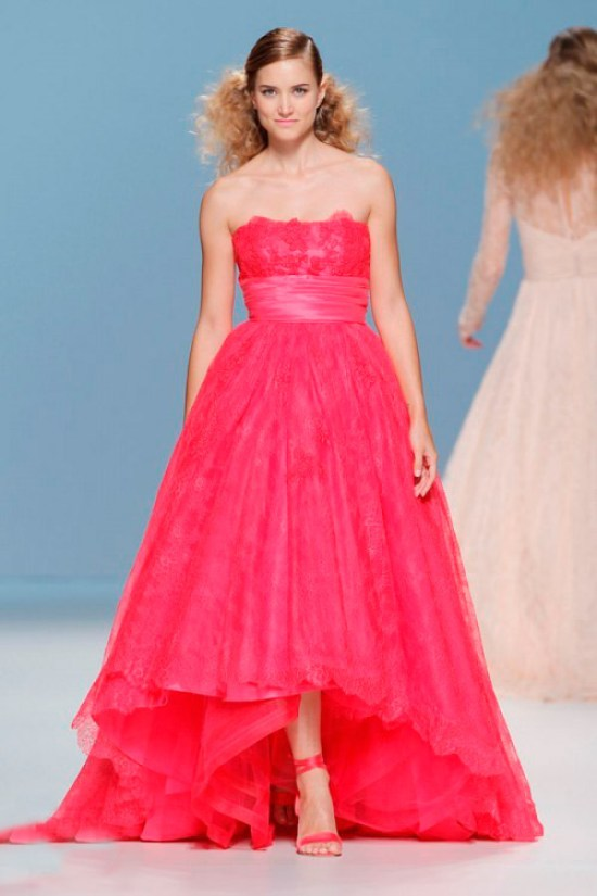 bright pink wedding dress Cymbeline