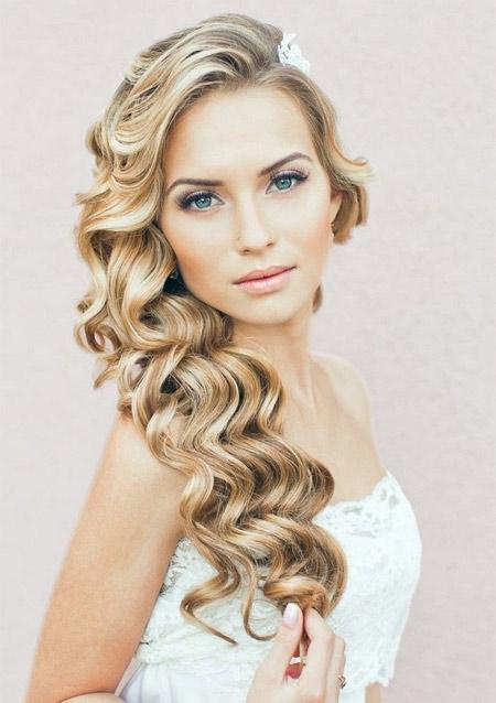 Wedding hairstyle curls photo 5