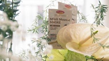Die Müsli-Mousse-Maske
