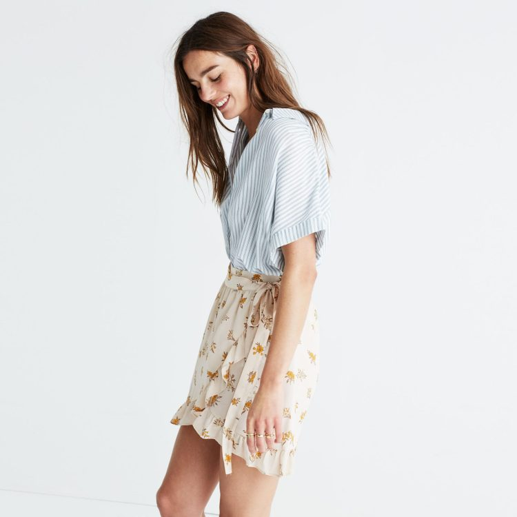 סקירת הסייל באתר Madewell במגזין Fashion tails Luba Shraga