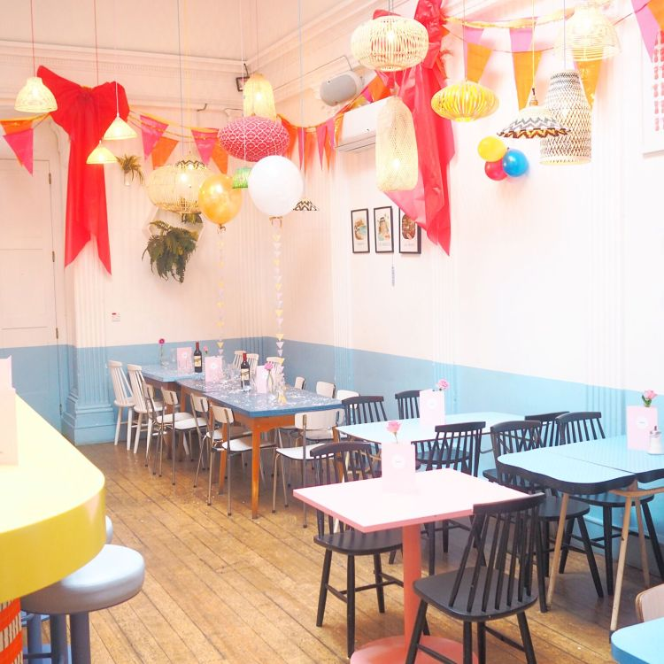 There's a bar in London that look like a Wes Anderson movie Fashion Tails Luba Shraga
