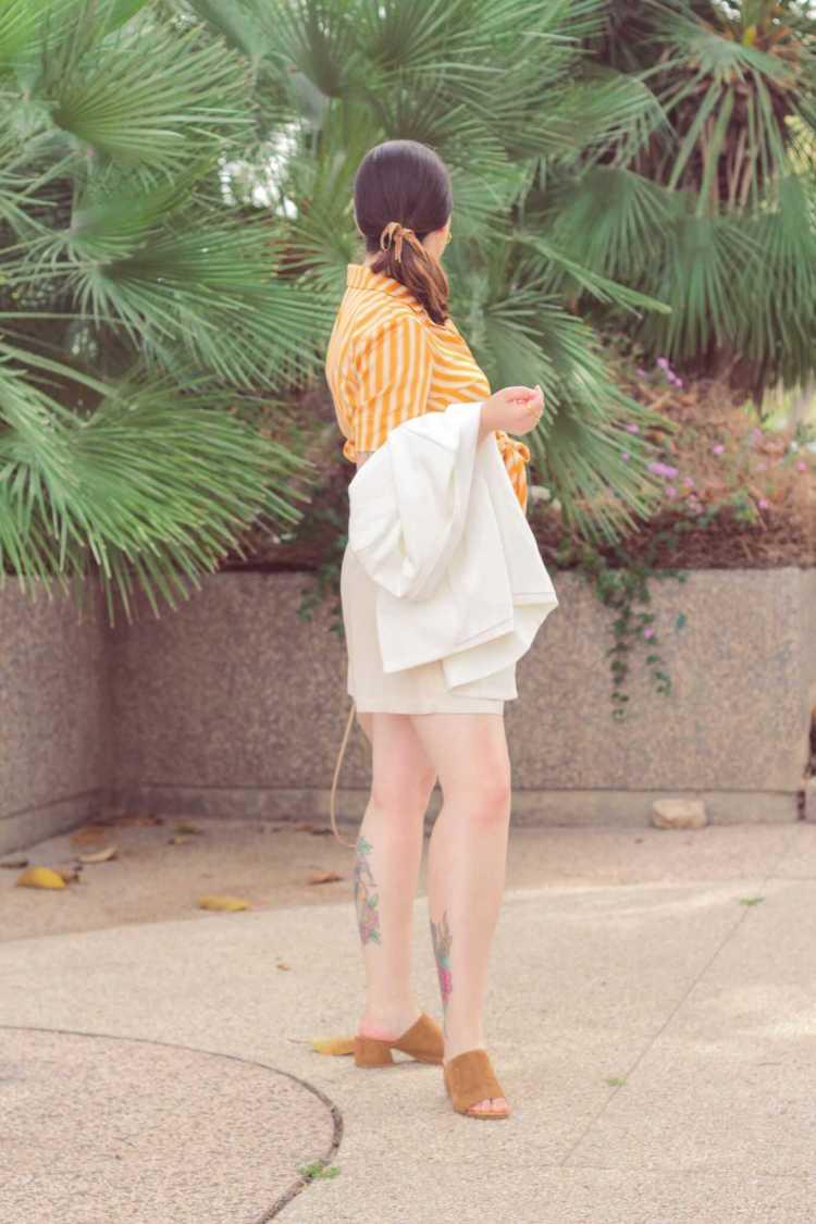 להוסיף צבע כתום למלתחה Fashion Tails Luba Shraga