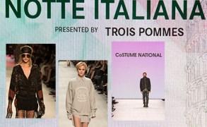 Mercedes Benz Fashion Days Zürich 2014 – Notte Italiana