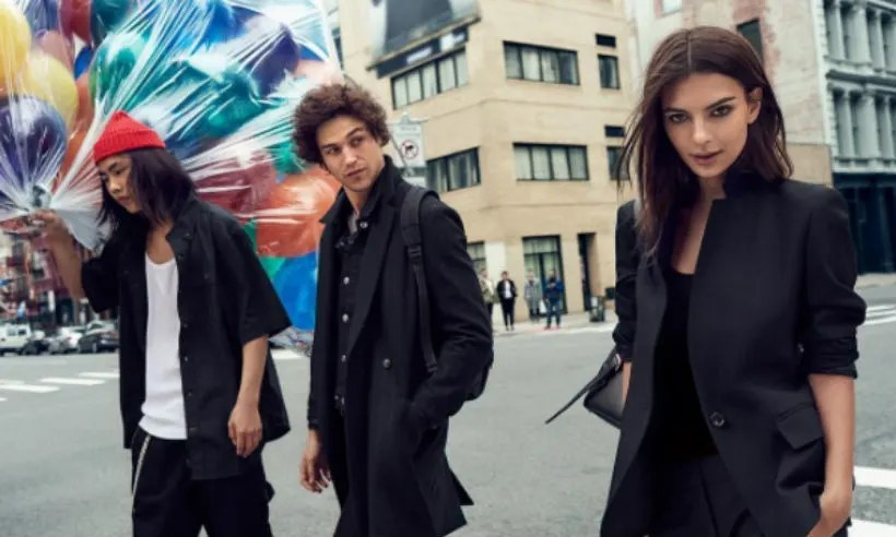 Emily Ratajkowski Soaks Up City Life For Latest DKNY Campaign