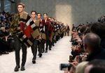 バーバリーがロンドンで2014年秋冬プローサム メンズコレクションを発表
