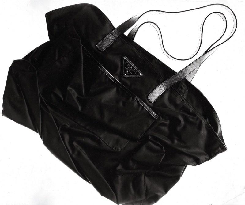 Mame Fashion Dictionary: Prada Nylon Shopping Bag 1978 By: Albert Watson