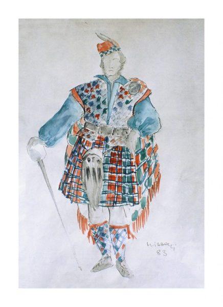 Mame Fashion Dictionary: Missoni Sketch 2 for the Opera Lucia di Lammermoor di Donizetti