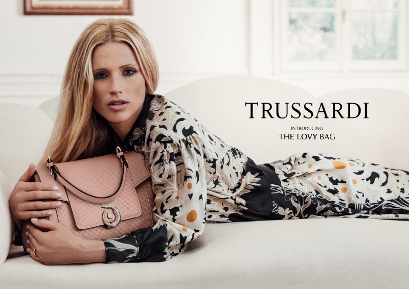 Mame Fashion Dictionary: Trussardi Michelle Brand Ambassador for Lovy Bag