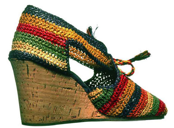 Mame Fashion Dictionary: Salvatore Ferragamo Wedge Shoe